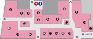 松江駅ビルシャミネ内のグルメ|モーニング・ランチ・ディナー店舗の営業詳細と口コミまとめ
