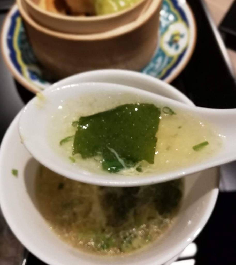 主菜(ミニ)三種セット〜スープ