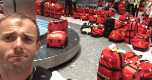 british-olympic-athletes-red-bags-heathrow-airport-spot your bag
