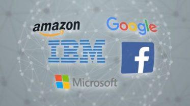 Facebook Amazon Google IBM and Microsoft