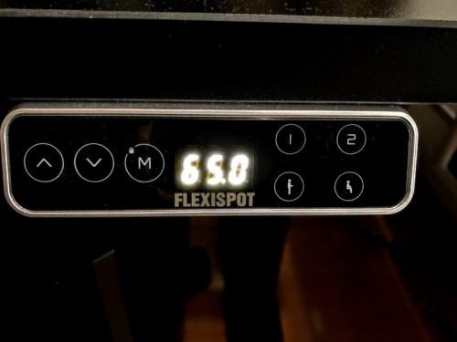 flexispot-e7-リモコン