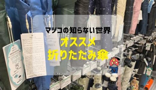 【台風・ゲリラ豪雨対策】マツコの知らない世界で紹介された、おすすめ折りたたみ傘を紹介