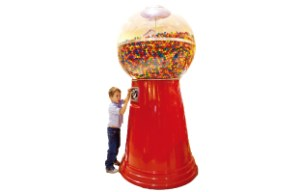 巨大キャンディマシーン