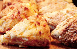 Scones Dobble Chedder