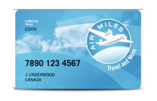 AIR MILES Loyalty One社が提供しているカナダ最大規模のポイントプログラム。カナダ全土で展開していて、カナダの3分の2の世帯が参加していると言われるほど。小売店から旅行会社、ネット通販など幅広い業種が参加している。プログラム加盟店で買い物をするとマイルが貯まる仕組みで、LCBOやSHELLで利用できるのが嬉しい。マイルは95マイル毎に$10として使用可能で、航空券や家電など商品にも交換できる。 airmiles.ca/arrow/Home