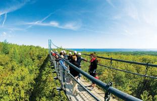 オンタリオで1番長いつり橋