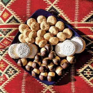イスラム教徒が多いエジプトではお酒代わりのお菓子が豊富