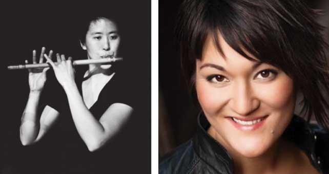 (左)今回ゲストアーティストとしてコラボレーションするHeidi Chanさん(右)オペラ歌手のTeiya Kasaharaさんともコラボレーションを行う
