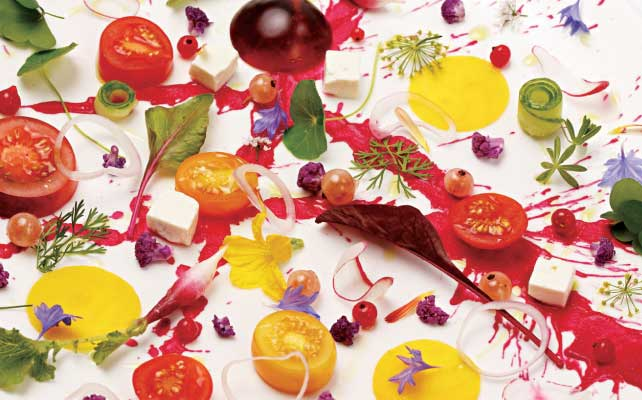 Summertime Tomato and Beet