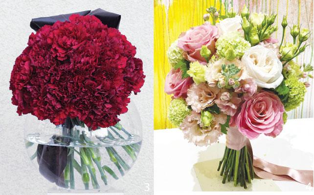 3 大量の花を集め大きな一つの花に見立てたLove Bombは最近のトレンドだ 4 テーマカラーにこだわったウェディングブーケ