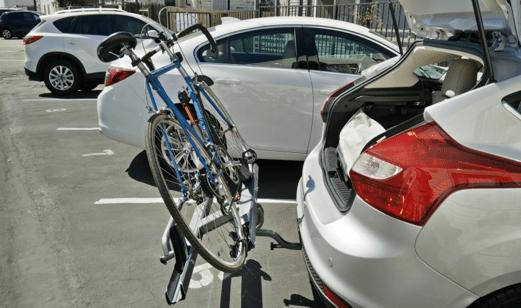 ecohitch and kuat sherpa bike rack