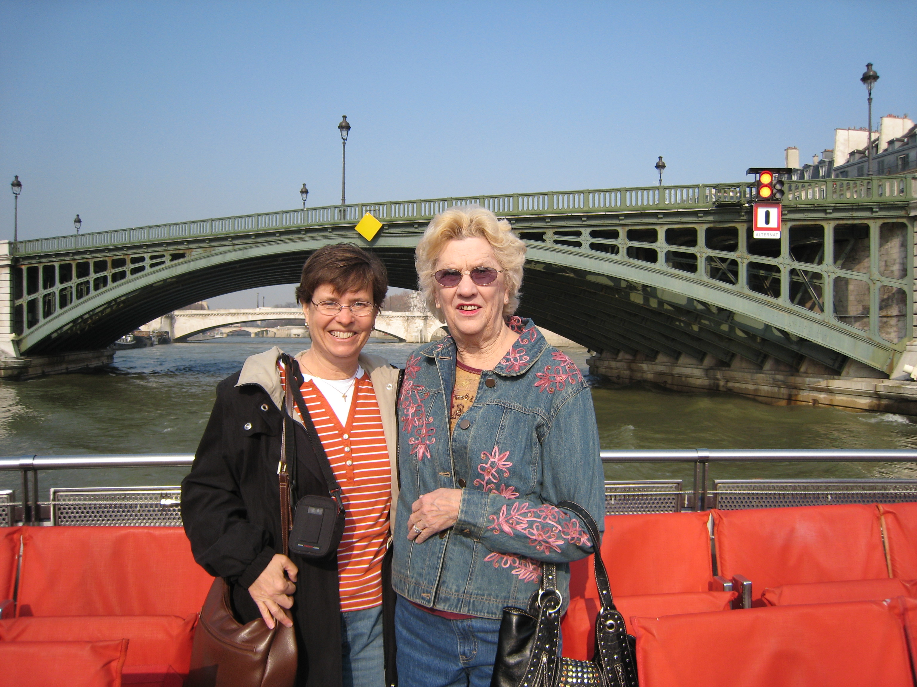 With me in Paris, March 2007