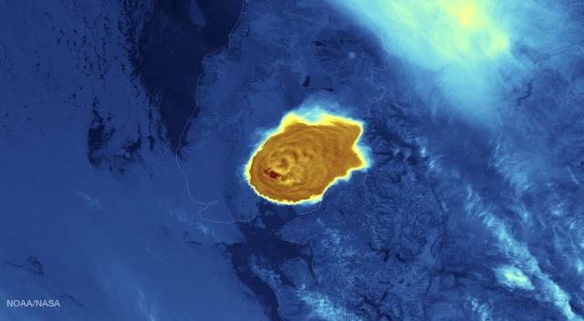 Calbuco NOAA IR