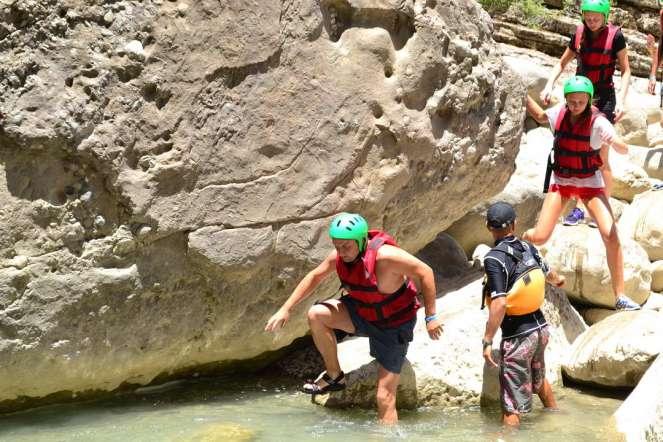 canyoning in alanya manavgat köprülü kanyon (17)