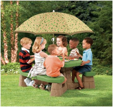 Best-little-tikes-picnic-table-with-umbrella-cheap