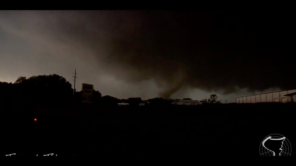 April 14, 2011 Storm Chase | Monster Tushka, OK EF3 Tornado