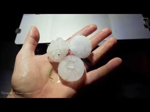 April 21st, 2020 Elk City, OK Hail Storm