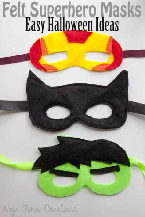 Felt-Superhero-Masks-Halloween-fun-by-Nap-Time-Creations-Easy-Halloween-Costume-683x1024