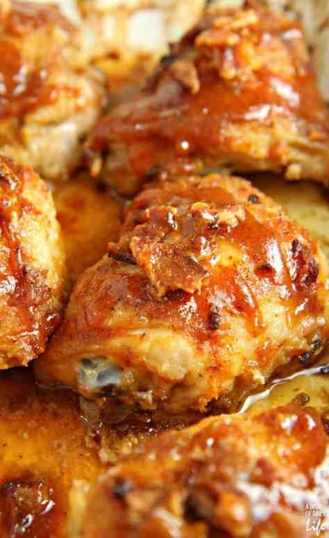Sticky-Honey-Mustard-Chicken-with-Bacon