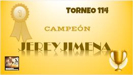 T114 DIPLOMA CAMPEÓN
