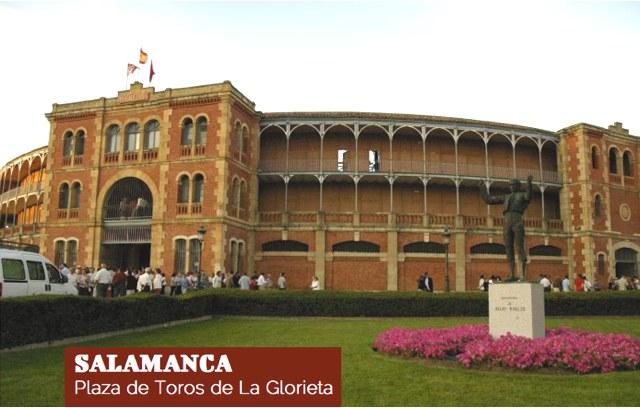 Salamanca. La Glorieta.