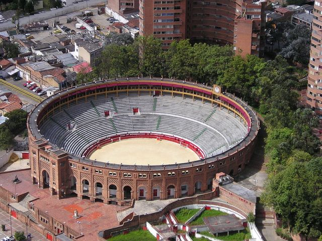 Plaza de toros La Santa Maria de Bogotá (photo : Carlos Andrés Prada Durán)