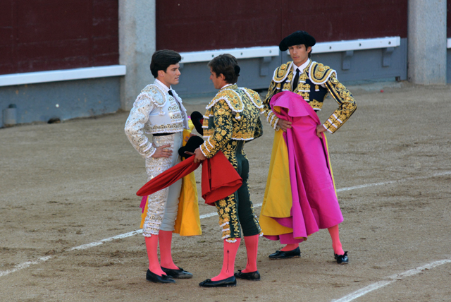 Confirmation d'alternative José Garrido Parrain El Juli Témoin Sébastien Castella Toro Alcurrucen Madrid 20052016 Photo : © Ferdinand DE MARCHI