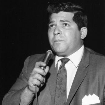 Gus Simone speaking at a Lathers' Local 562 meeting. June 3, 1969. York University, Clara Thomas Archives and Special Collections, Toronto Telegram fonds, ASC52322.