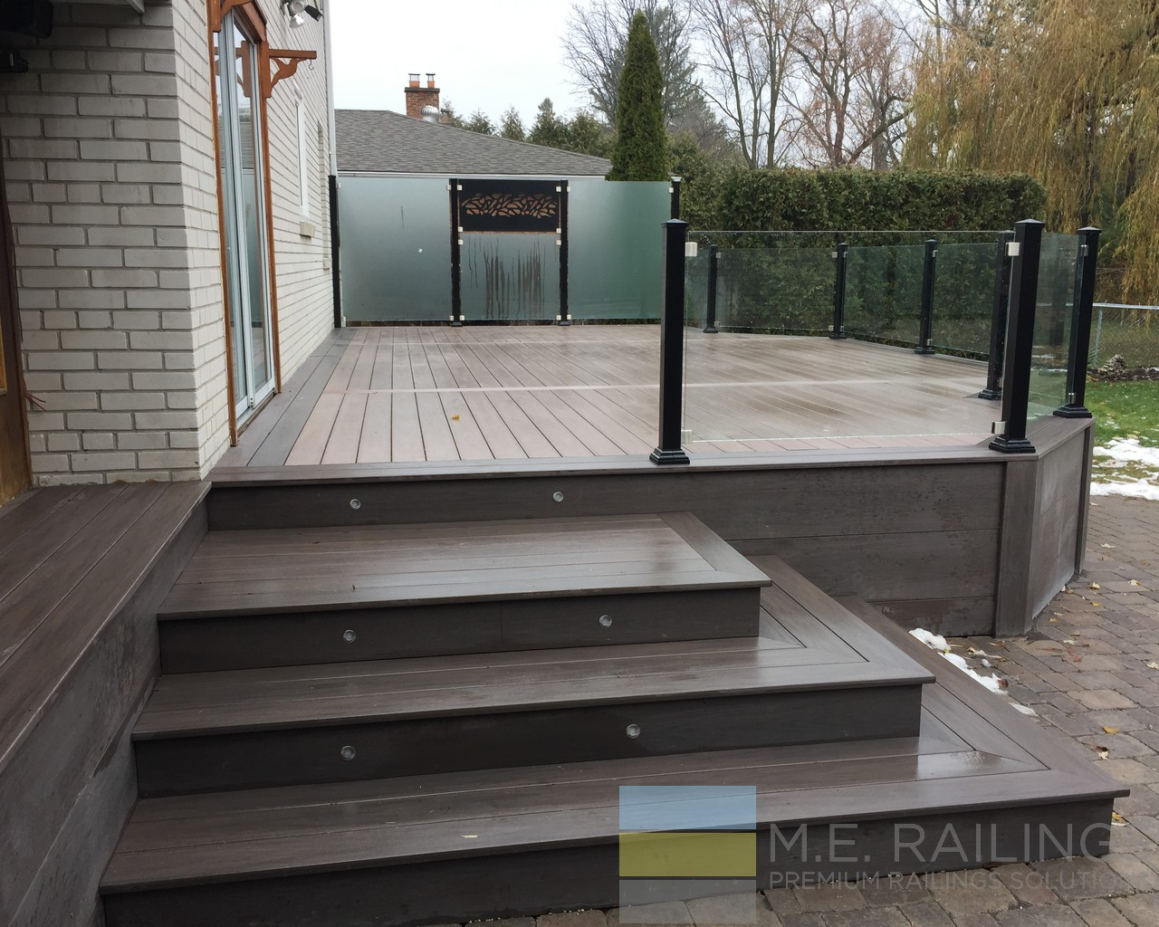 Aluminum Deck Railings With Glass Toronto Railings