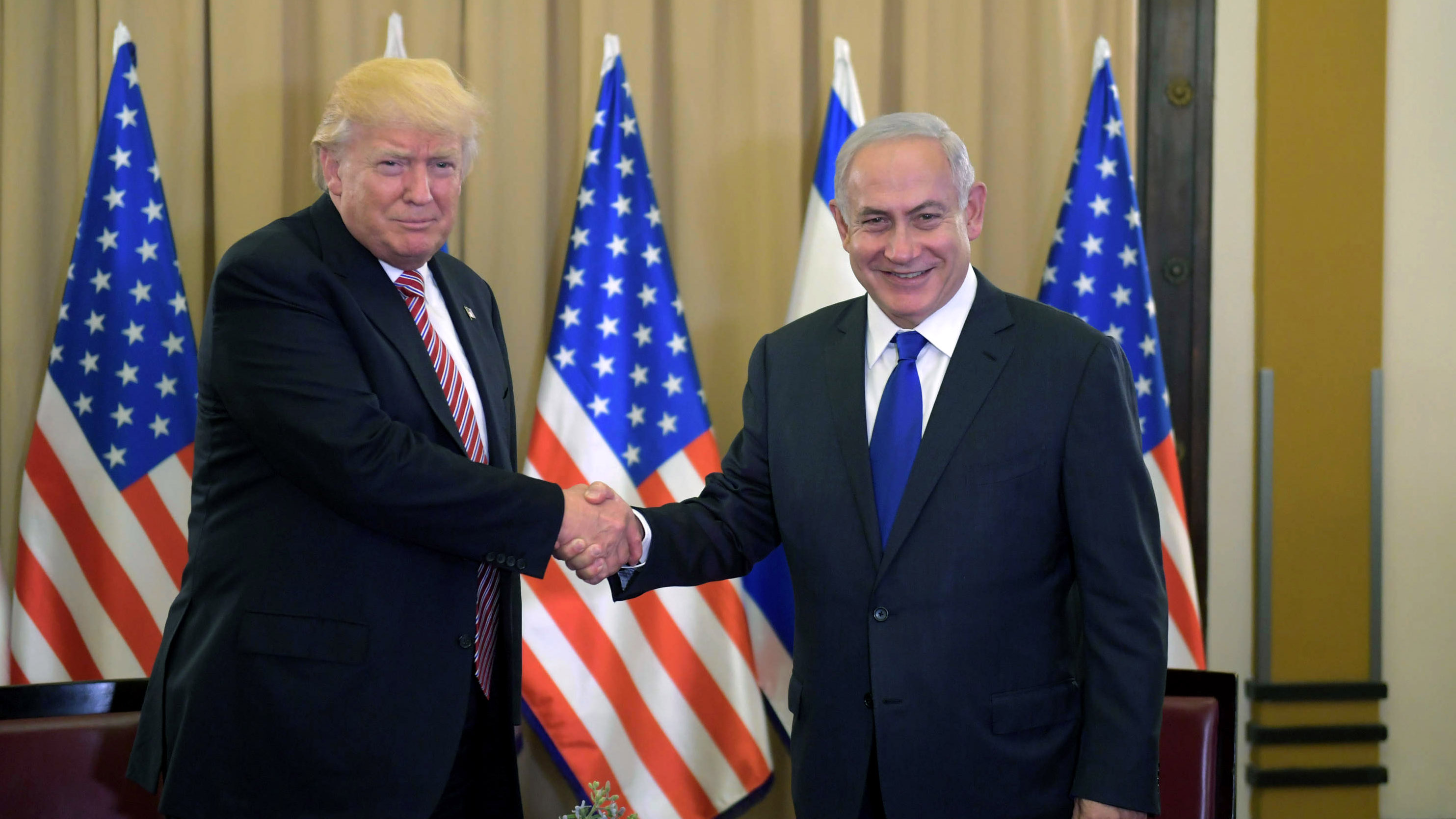 Trump Says He Didn T Mention Israel In Meeting With