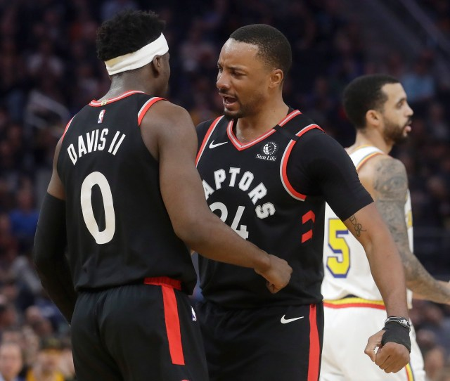 Raptors Clinch Playoff Spot On Historic Night For Powell