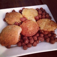 Mini Banana Muffins & Cocoa Puffs at the 8th Deadly Sin Brunch Tasting