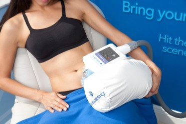 CoolSculpting treatment