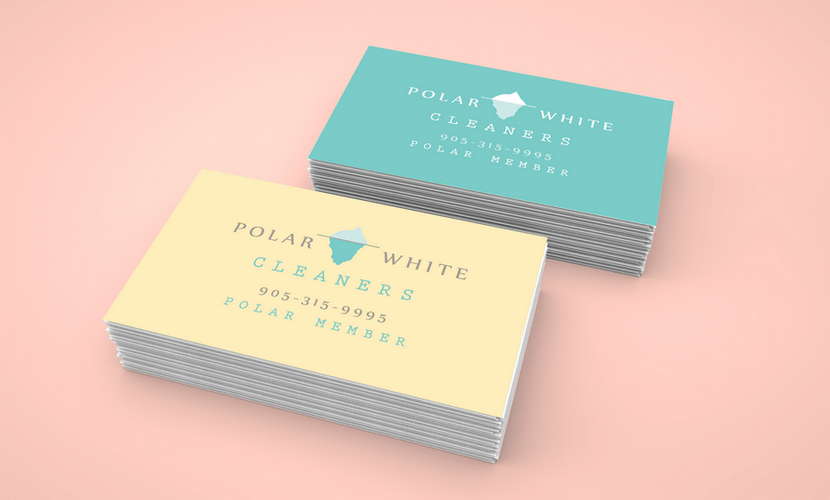 Business card design & print for a company