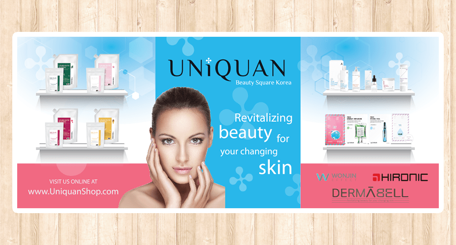 Trade Show Booth Design for Uniquan