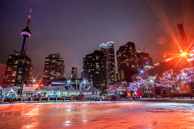 NYE 2016 Events in Toronto Harbourfront skating   Toronto New Year