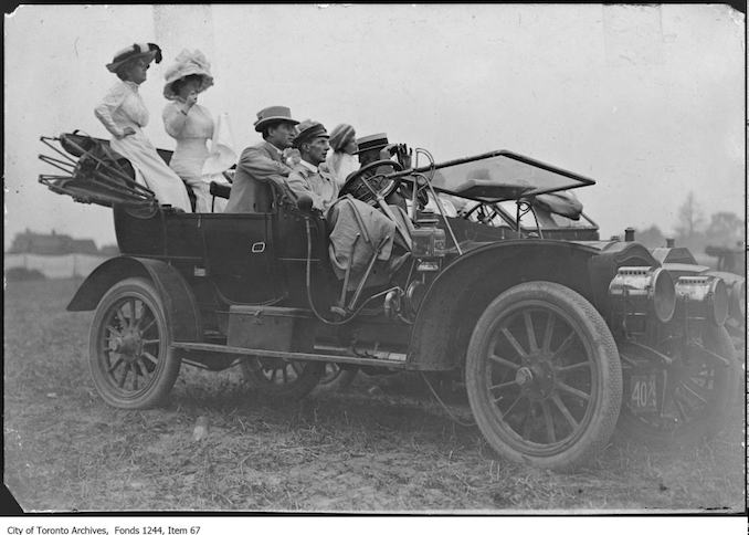Vintage Automobile Photographs From Toronto