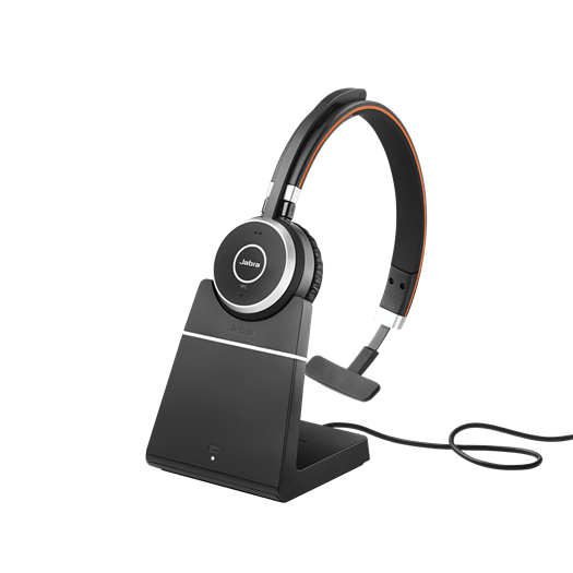 Jabra Evolve 65 Mono with Stand
