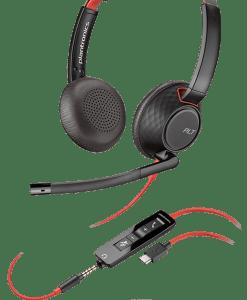 Plantronics Blackwire C5220 USB-C UC Headset 207586-01
