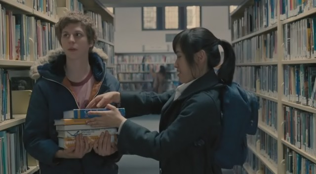 scott pilgrim library