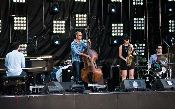 Allison Au Quartet at MIJF - Photo by Valerie Gay-Bessette