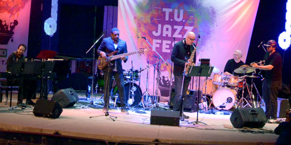 Mark Kelso and The Jazz Exiles at The T.U. Jazz Festival 2017