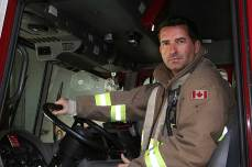 Firefighter Mark Gatensby. (Maxx Smith/Toronto Observer)