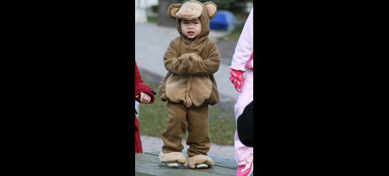 'I am my own teddy bear.'