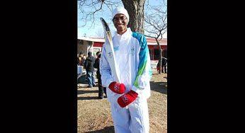 Imad Iqbal, 2010 Olympic torchbearer.