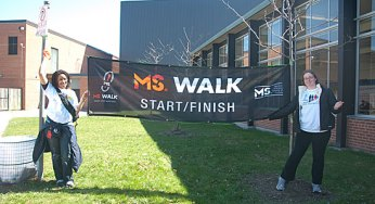 Participants chose to walk 2 km, 5 km or 10 km around Scarborough for the event.