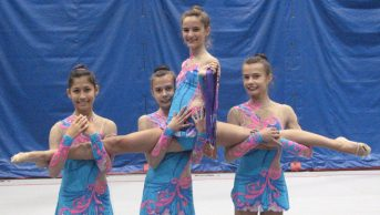 Canadian Junior Rhythmic Gymnastics team