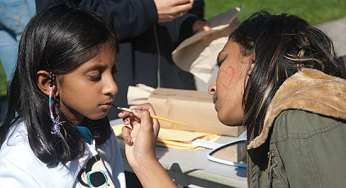 Face painting was popular at the 17th annual Family Day. Held on Sept. 18, the event was also a celebration of the 50th anniversary of the West Rouge Sports and Recreation Association.