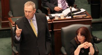 Scarborough-Agincourt MPP Gerry Phllips debating on the retirement home bill in June 2010 when he served as the Minister Responsible for Seniors.