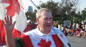 Phillips at the Canada Day Parade on July 1, 2008.